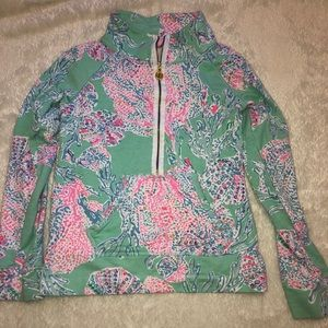 xs lilly pulitzer pullover